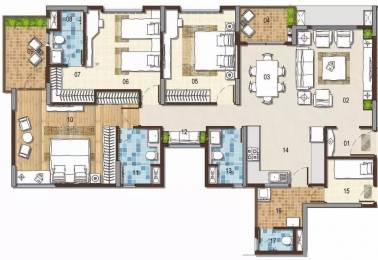 1795 sqft, 3 bhk Apartment in G Corp The Icon Thanisandra, Bangalore at Rs. 1.6000 Cr