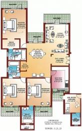 2530 sqft, 3 bhk Apartment in Parsvnath La Tropicana Civil Lines, Delhi at Rs. 3.5000 Cr