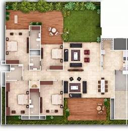 3618 sqft, 4 bhk Apartment in Ganesh Maple Tree Memnagar, Ahmedabad at Rs. 2.2800 Cr