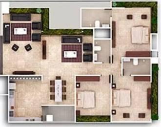 2295 sqft, 3 bhk Apartment in Ganesh Maple Tree Memnagar, Ahmedabad at Rs. 1.4500 Cr