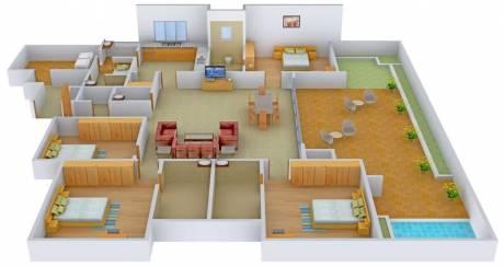 5100 sqft, 4 bhk Apartment in HRG Verantes Thaltej, Ahmedabad at Rs. 3.8200 Cr