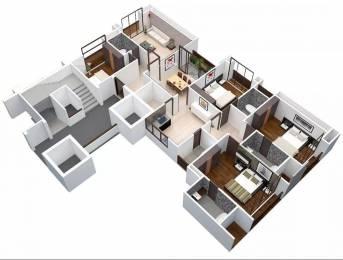 2890 sqft, 4 bhk Apartment in Ajmera Enigma Thaltej, Ahmedabad at Rs. 1.8300 Cr
