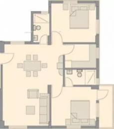875 sqft, 2 bhk Apartment in Bengal Peerless Anahita New Town, Kolkata at Rs. 36.0000 Lacs