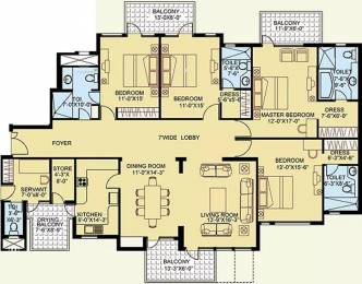 2948 sqft, 4 bhk Apartment in Satya The Legend Sector 57, Gurgaon at Rs. 46000