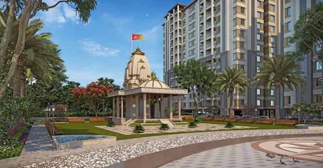 1360 sqft, 2 bhk Apartment in Sangani Sangani Dove Deck Ajwa Road, Vadodara at Rs. 31.0850 Lacs