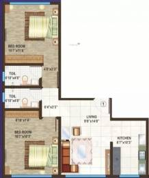 702 sqft, 2 bhk Apartment in Dipti Meghdoot Ville Parle East, Mumbai at Rs. 2.4000 Cr