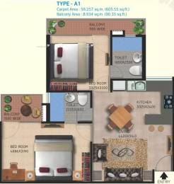 786 sqft, 2 bhk Apartment in Lotus Homz Sector 111, Gurgaon at Rs. 24.6700 Lacs
