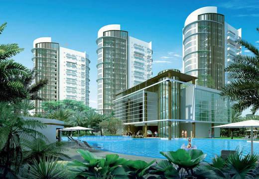 1288 sqft, 2 bhk Apartment in Emaar Palm Studios Sector 66, Gurgaon at Rs. 35000