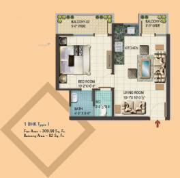 310 sqft, 1 bhk BuilderFloor in RAS Basera Taraori, Karnal at Rs. 9.7100 Lacs