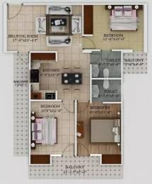 1350 sqft, 3 bhk Apartment in Javin Raj Empire Raj Nagar Extension, Ghaziabad at Rs. 41.0000 Lacs