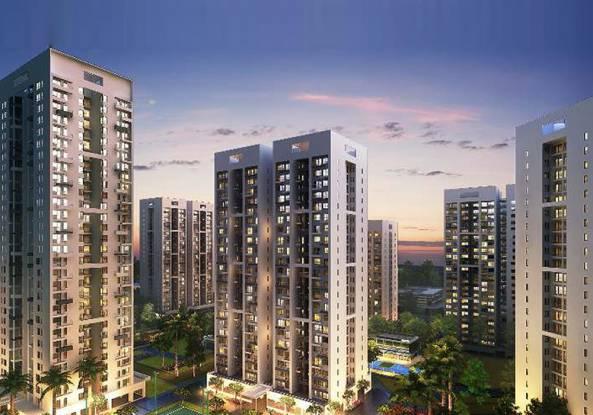 906 sqft, 2 bhk Apartment in Godrej Infinity Mundhwa, Pune at Rs. 57.8300 Lacs