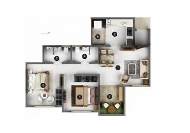 748 sqft, 2 bhk Apartment in Mittal Pebbles High Mont Phase 1 Hinjewadi, Pune at Rs. 64.8700 Lacs