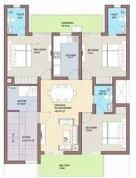 1402 sqft, 3 bhk Apartment in BPTP Park 81 Sector 81, Faridabad at Rs. 50.0000 Lacs