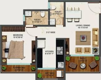 630 sqft, 1 bhk Apartment in Bachraj Landmark Virar, Mumbai at Rs. 31.5000 Lacs