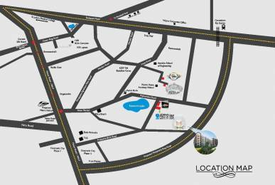 1028 sqft, 2 bhk Apartment in MJ Lifestyle Astro Electronic City Phase 2, Bangalore at Rs. 29.6800 Lacs