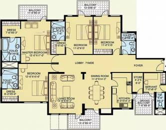 2982 sqft, 4 bhk Apartment in Satya The Legend Sector 57, Gurgaon at Rs. 47000
