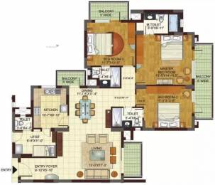 2293 sqft, 3 bhk Apartment in BPTP Freedom Park Life Sector 57, Gurgaon at Rs. 1.7000 Cr