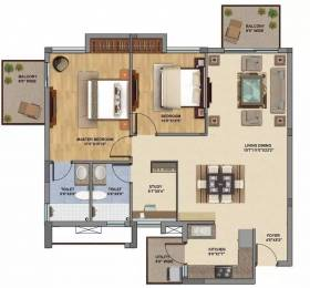 1350 sqft, 2 bhk Apartment in Silverglades The Melia Sector 35 Sohna, Gurgaon at Rs. 90.0000 Lacs