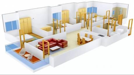 1950 sqft, 3 bhk Apartment in Pioneer Pioneer Park PH 1 Sector 61, Gurgaon at Rs. 42000