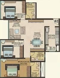 1420 sqft, 3 bhk Apartment in Kanakia Paris Bandra Kurla Complex, Mumbai at Rs. 4.5000 Cr