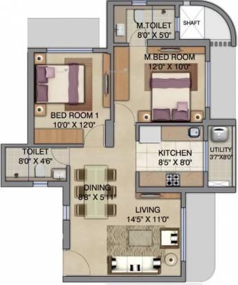 902 sqft, 2 bhk Apartment in Lodha Bel Air Jogeshwari West, Mumbai at Rs. 1.8000 Cr