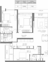 1802 sqft, 3 bhk Apartment in Radius Epitome at Imperial Heights Goregaon West, Mumbai at Rs. 3.3000 Cr
