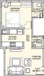 507 sqft, 1 bhk Apartment in J V Realty Ariana Residency Borivali East, Mumbai at Rs. 71.0000 Lacs