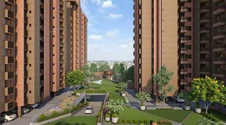 1330 sqft, 3 bhk Apartment in Builder South Bopal South Park Nr Sobo Center South Bopal, Ahmedabad at Rs. 42.5600 Lacs
