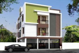 1,195 sq ft 2 BHK + 3T Apartment in Builder Project