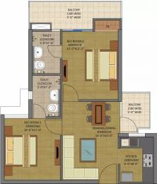 895 sqft, 2 bhk Apartment in Gaursons Siddhartham Siddhartha Vihar, Ghaziabad at Rs. 26.8090 Lacs