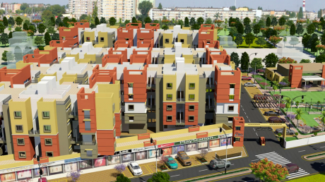 964 sqft, 3 bhk Apartment in Builder Project Gotal pajri, Nagpur at Rs. 20.2440 Lacs