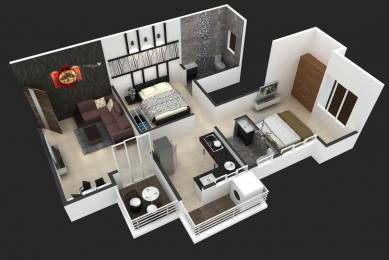 800 sqft, 2 bhk Apartment in Builder Project kesnand, Pune at Rs. 29.5000 Lacs