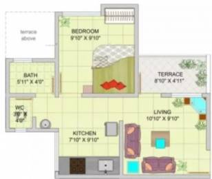 661 sqft, 1 bhk Apartment in Dreams Sankalp Wagholi, Pune at Rs. 25.0000 Lacs
