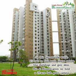 1234 sqft, 2 bhk Apartment in Logix Blossom Greens Sector 143, Noida at Rs. 52.4400 Lacs
