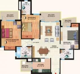 1690 sqft, 3 bhk Apartment in Mapsko Casa Bella Sector 82, Gurgaon at Rs. 11000