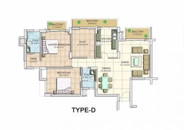 1488 sqft, 3 bhk Apartment in BPTP Park Serene Sector 37D, Gurgaon at Rs. 72.0000 Lacs
