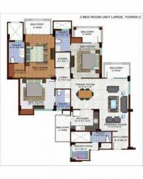1990 sqft, 3 bhk Apartment in Ramprastha The Edge Towers Sector 37D, Gurgaon at Rs. 80.0000 Lacs