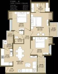 1350 sqft, 3 bhk Apartment in ABA Cleo County Sector 121, Noida at Rs. 74.0000 Lacs