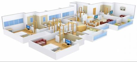 3700 sqft, 4 bhk Apartment in Popular Domain Satellite, Ahmedabad at Rs. 1.2000 Lacs