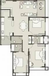 2070 sqft, 3 bhk Apartment in Nishant Ratnakar IV Jodhpur Village, Ahmedabad at Rs. 30000