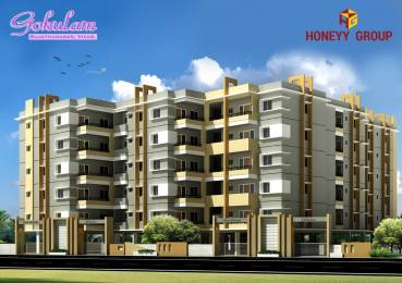 1400 sqft, 3 bhk Apartment in Builder Gokulam Sujatha Nagar, Visakhapatnam at Rs. 44.0000 Lacs