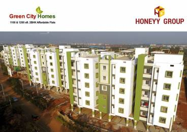 1100 sqft, 2 bhk Apartment in  Green City Homes Auto Nagar, Visakhapatnam at Rs. 32.0000 Lacs