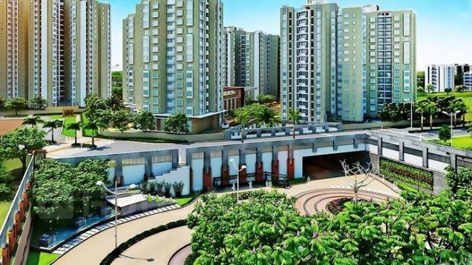 1047 sqft, 2 bhk Apartment in DivyaSree Republic of Whitefield Brookefield, Bangalore at Rs. 83.0000 Lacs