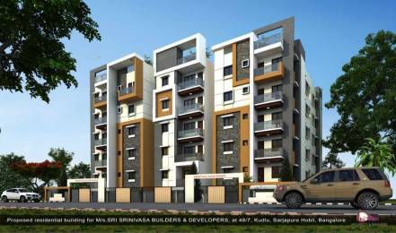 1432 sqft, 3 bhk Apartment in Builder Srinivasa Palm Woods Kudlu Gate, Bangalore at Rs. 64.3200 Lacs