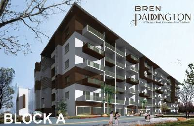 1014 sqft, 1 bhk Apartment in Bren Woods Avalahalli Off Sarjapur Road, Bangalore at Rs. 64.5000 Lacs