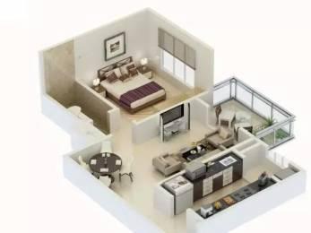 801 sqft, 1 bhk Apartment in Karia Konark Meadows Wagholi, Pune at Rs. 42.0000 Lacs