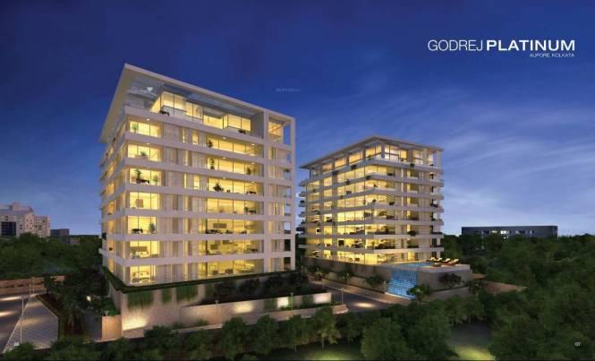3762 sqft, 4 bhk Apartment in Godrej Platinum Alipore, Kolkata at Rs. 5.2668 Cr