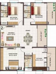 2156 sqft, 3 bhk Apartment in Manjeera Monarch Mangalagiri, Vijayawada at Rs. 99.0000 Lacs