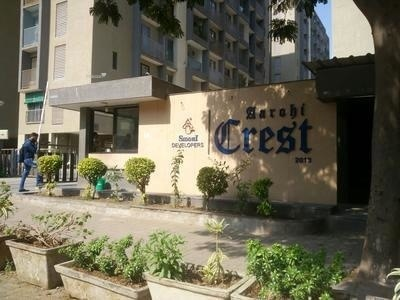 2025 sqft, 3 bhk Apartment in Siddhi Aarohi Crest Bopal, Ahmedabad at Rs. 23000