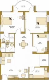 1347 sqft, 2 bhk Apartment in Bengal Peerless Avidipta Mukundapur, Kolkata at Rs. 1.2200 Cr
